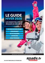 Prospectus Roady : Le Guide Hiver 2020