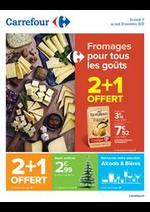 Promos et remises Carrefour : Fromages pour tous les goûts