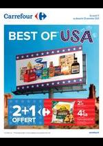 Promos et remises Carrefour : BEST OF USA