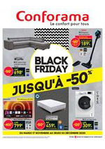 Promos et remises Conforama : Offres Conforama Black Friday