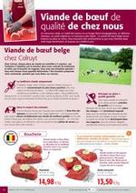 Services et infos pratiques Colruyt : Viande de bœuf de qualité de chez nous