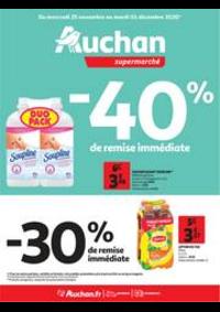 Promos et remises Auchan Plaisir : Encore des bons plans !