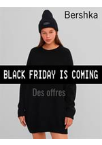 Catalogues et collections Bershka : Des offres Bershka Black Friday