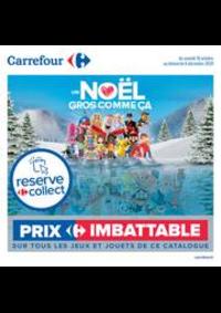 Prospectus Carrefour GENNEVILLIERS : Découvrez nos jouets de noël !
