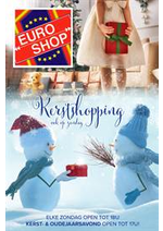 Prospectus EURO SHOP : kerstfolder 2020