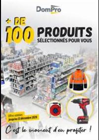 Prospectus Dompro ARGENTEUIL : + de 100 produits sélectionnés pour vous