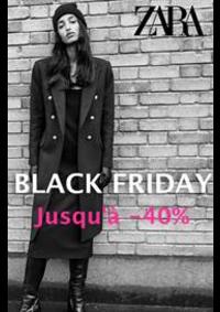 Catalogues et collections ZARA AULNAY SOUS BOIS : Jusqu'a 40% Zara Black Friday