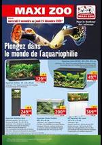 Prospectus maxi zoo : Plongez dans le monde de l'aquariophilie