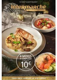 Prospectus Intermarché Super Vigneux : Vos menus de fêtes