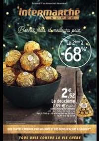 Prospectus Intermarché Super Yerres : Bonnes fêtes et meilleurs prix