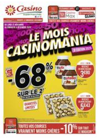 Prospectus Supermarchés Casino PARIS 77 Rue de Flandre : Le mois Casinomania