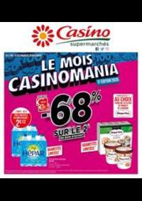 Prospectus Supermarchés Casino BAGNEUX : Le mois Casinomania