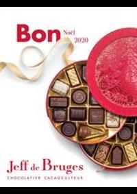 Prospectus Jeff de Bruges Paris 112-114 rue Mouffetard : Bon Noël 2020