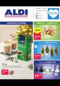 Prospectus Aldi DOTTIGNIES : Folder Aldi