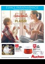 Prospectus Auchan : On se chouchoute et on se fait plaisir