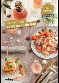 Menus Colruyt HANNUT : Nos recettes, vos menu de fête