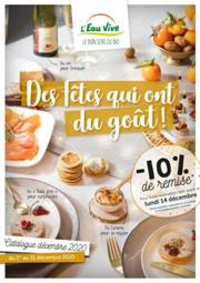Prospectus L'Eau Vive COURBEVOIE : Catalogue Noël 2020