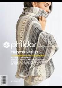 Prospectus Phildar distributeur l'Isle d'Adam : Collection Fusionné