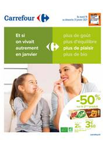 Prospectus Carrefour : Manger Sain Janvier