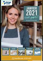 Prospectus Top office : Janvier 2021 c'est parti !