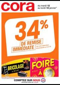 Promos et remises Cora PUBLIER - AMPHION-LES-BAINS : 34% de remise immédiate