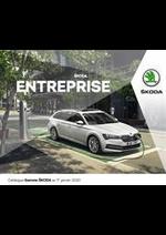 Prospectus Skoda : Catalogue Škoda Entreprise