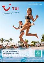 Promos et remises  : TUI Club Marmara Été 2021