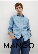 Prospectus MANGO : Denim pour Homme
