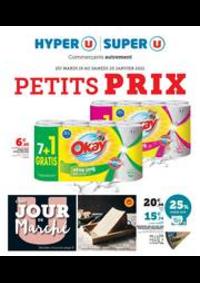 Prospectus Super U ST GERMAIN LEMBRON : PETITS PRIX