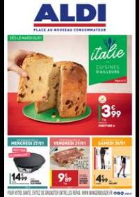 Prospectus Aldi Aulnay-sous-Bois : L'italie - Cuisines d'ailleurs