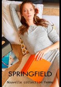 Prospectus Springfield PARIS 66 rue de Rivoli : Nouvelle collection femme