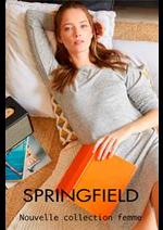 Prospectus Springfield : Nouvelle collection femme