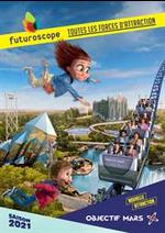 Prospectus Futuroscope : Saison 2021