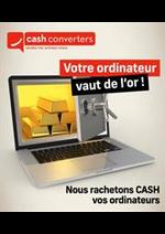 Prospectus Cash Converters : Offres