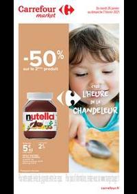 Prospectus Carrefour Market PARIS 102-104 AVENUE GENERAL LECLERC : C'est l'heure de la Chandeleur