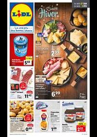 Prospectus Lidl DOUVAINE : Cuisine d'Hiver