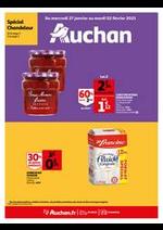 Prospectus Auchan : Trop cool les crêpes !