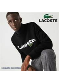 Prospectus Lacoste Paris 36 Avenue des ternes : Nouvelle collection