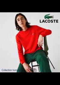 Prospectus Lacoste Metz : Collection homme