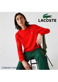 Prospectus Lacoste Paris 36 Avenue des ternes : Collection homme