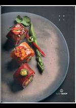Prospectus Sushi shop : Carte 2021