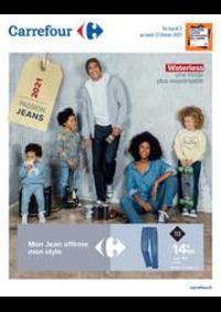 Prospectus Carrefour CHARENTON LE PONT : Mon jean affirme mon style