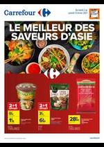 Prospectus Carrefour : Le meilleur des saveurs d'Asie