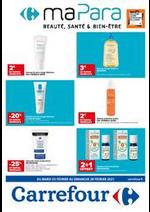 Prospectus Carrefour : Ma para - santé / beauté / bien-être