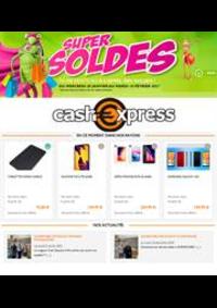 Prospectus Cash Express PARIS 46-48 BOULEVARD DE STRASBOURG : Super Soldes