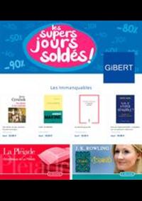 Prospectus Gibert Joseph Paris VI Librairie - Disque - Vidéo - Papeterie : Les super jours soldés !