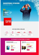 Prospectus SFR : Shopping d'hiver