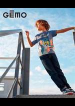Prospectus Gemo : Nouvelle Collection / Garcon