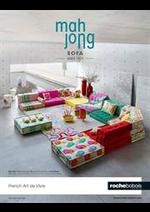 Journaux et magazines Roche Bobois : MAH JONG SOFA