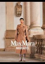 Catalogues et collections Max Mara : Nouveautés